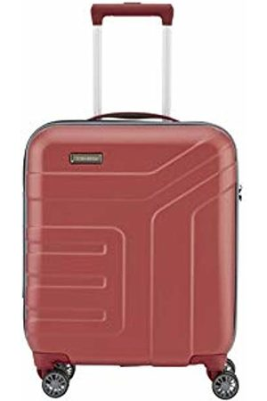 "Travelite ""VECTOR"" suitcase series: robust hard-shell rolling suitcases and cosmetic bags in four trendy colours"