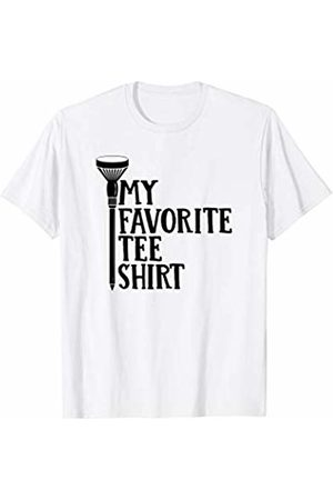 Funny Golf Christmas Gift My Favorite Tee Shirt T-Shirt