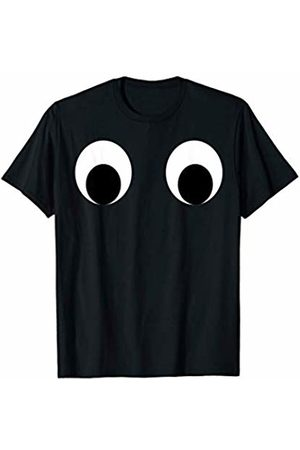 Costune Halloween Costumes Shirt Men Women Kids Really Scary Creepy Monster Eyes Eyeballs Race Running T-Shirt
