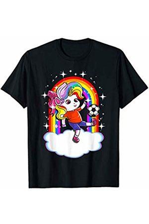 Magical Unicorn Squad Gift Shop Soccer Unicorn Sports Unicorns Cute Girls Kids Youth Women T-Shirt