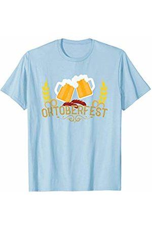 Oktoberfest Apparel by BUBL TEES Oktoberfest Beer Stein Mug Pretzel Sausage Festival T-Shirt