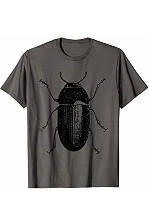 The New Antique European Beetle Insect Print T-Shirt