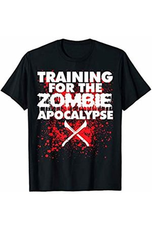 Miftees Training for the Zombie Apocalypse funny Zombie Hunting T-Shirt