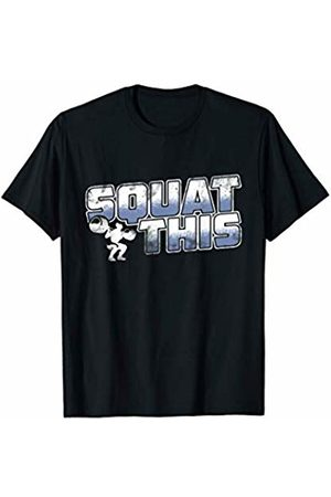 Weight Lifting Is Awesome! Squat This Workout Fitness Gym Weight Lifting Cardio Gift T-Shirt