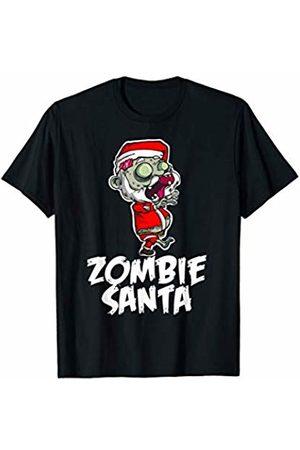 Miftees Zombie Santa Funny Zombie Christmas Santa Claus T-Shirt