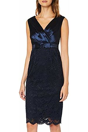 Apart Women's Dress with Lace Party, Midnightblue