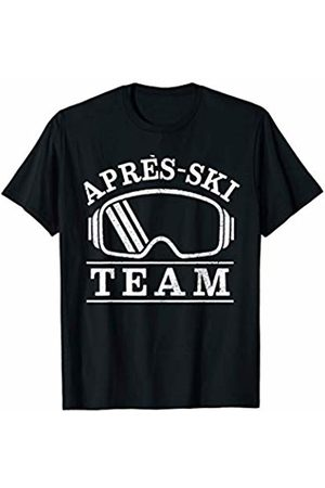 We Love Apres Ski - Apparel & Gifts Men T-shirts - Apres Ski Team - Skiing Winter Sports Party Skier Gift T-Shirt