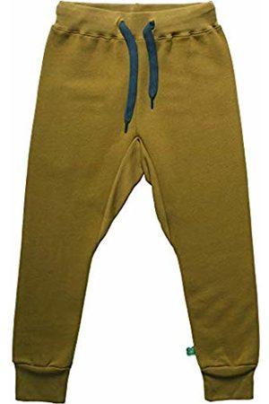 Green Cotton Boy's Sweat Pants Trouser
