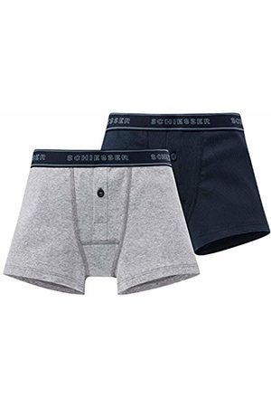 Schiesser Boys' Long Life Cotton 2Pack Retros Boxer Shorts