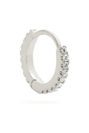 Maria Tash Eternity Diamond & 18kt White Gold Earring - Womens