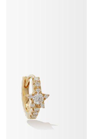 Maria Tash Star Eternity Diamond & 18kt Single Earring - Womens