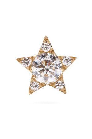 Maria Tash Star Small Diamond & 18kt Single Earring - Womens