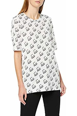 Scotch&Soda Maison Women's Allover Printed Tee T-Shirt