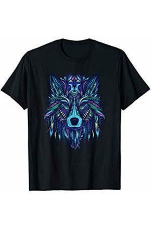 Mandala Ganesha Tribal Style Shirts Mandala Fox Yoga Ganesha Tribal Ornaments Chakra Shirt T-Shirt