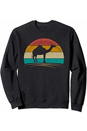 Wowsome! Vintage Dromedary Retro Distressed Arabian Camel Men Women Sweatshirt
