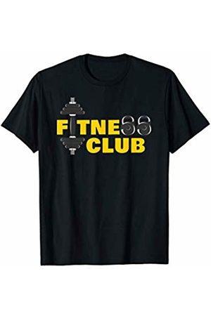 Fitness Tee Co Fitness Club - Weightlifting Workout Gym Gift T-Shirt
