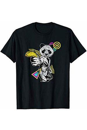 Panda Squad Team Leader T-Shirts and Gifts Panda Team Leader | Anime Panda Pajamas T-Shirt