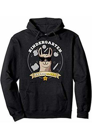 Kindergarten Shirts Tee Kaboom Kindergarten No Prob Llama Kinder Girl Back to School Pullover Hoodie