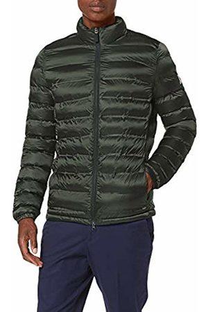 Invicta Men's Giubbino 400t Bt Astro Coat, (Verde/Blu Scuro 1070)