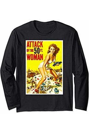 Dodo Attack of the 50 Fifty Foot Woman Sci Fi Horror Shirt Long Sleeve T-Shirt