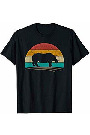 Wowsome! Vintage Rhinoceros Retro 70s Distressed Rhino Men Women T-Shirt