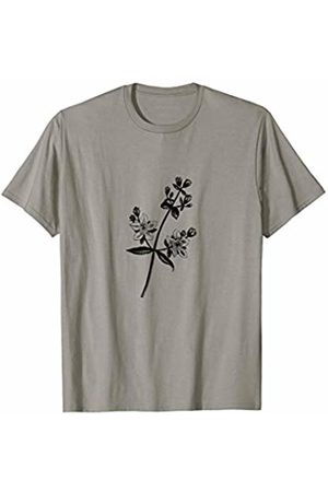 The New Antique Vintage Dainty Flower Print T-Shirt