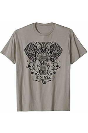 Mandala Ganesha Tribal Style Shirts T-shirts - Yoga Mandala Elephant Ganesha Tribal Ornaments Chakra Shirt T-Shirt