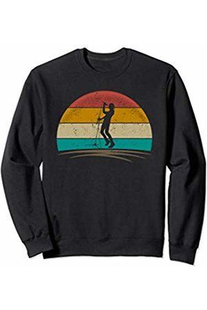 Wowsome! Vintage Singer Retro 70s Distressed Vocalist Men Women Sweatshirt