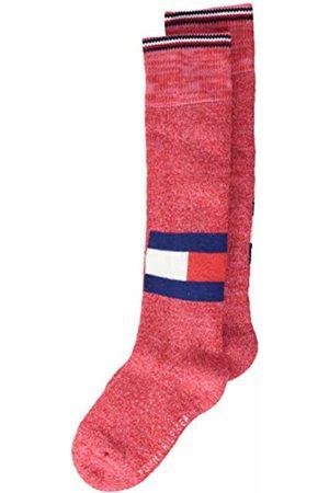 Tommy Hilfiger Girl's Th Kids Kneehigh 1p Logo Run Free Calf Socks