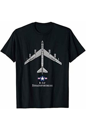 Designed For Flight B-52 Stratofortress Tech Drawing Cold War Bomber T-Shirt