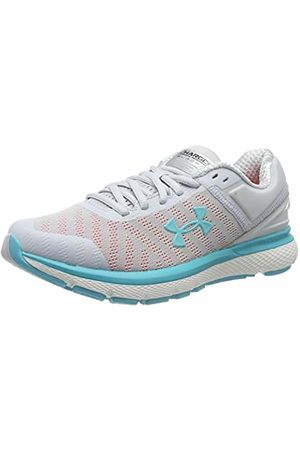 Under Armour Women's Charged Europa 2 Competition Running Shoes, (Halo Gray/Peach Plasma/Breathtaking 103)
