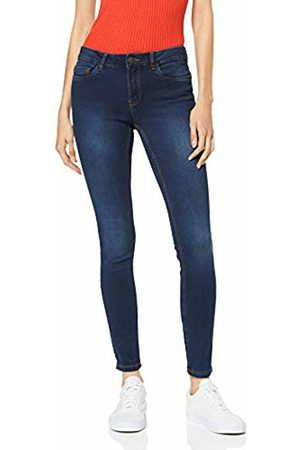 Vero Moda NOS Women's Vmseven Mr S Shape Up J Vi342 Noos Ga Skinny Jeans, (Dark Denim Detail: Tobacco Stitch)