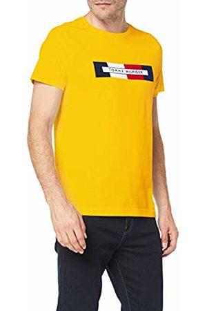 Tommy Hilfiger Men's Box RWB Logo Tee Sport Top