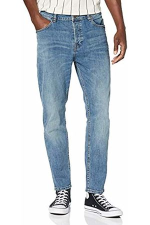 Only & Sons Men's Onsavi Washed Ad 3673 Utd Tapered Fit Jeans, Denim