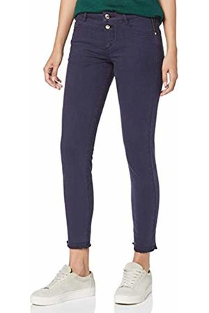 s.Oliver Women's 14.908.76.3036 Trouser, (Dark 5835)