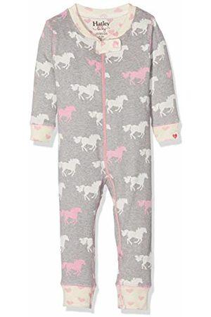 Hatley Baby Girls' Organic Cotton Sleepsuits (Pasture Horses 020)