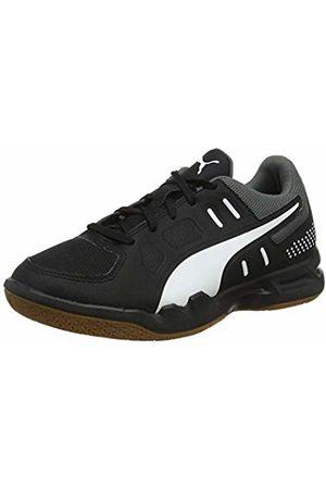 Puma Unisex Kid's Auriz Jr Futsal Shoes, -Castlerock-Gum