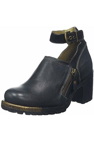 Fly London Women's LEPU306FLY Ankle Strap Heels, ( 010)