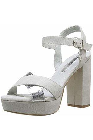 Xti Women's 32055 Sling Back Heels, Hielo