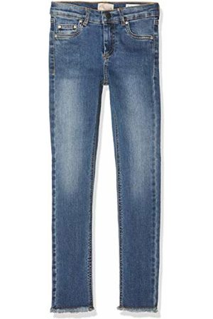 KIDS ONLY Girl's Konblush Skinny Raw Jeans 1303 Medium Denim