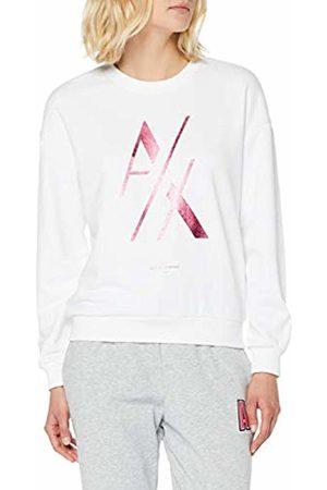 Armani Women's Big Cutted Logo Sweatshirt, ( 1100)
