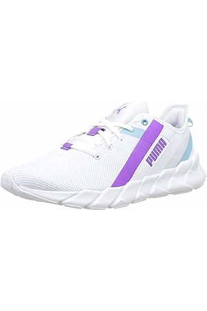 Puma Girls' Weave XT Jr Trainers, -Milky -Royal Lilac 03