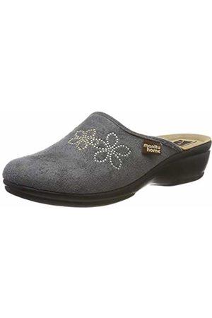 Manitu-Home Women's 330167 Open Back Slippers
