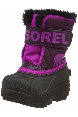 sorel Baby Toddler Snow Commander Boots, ( Dahlia, 562)