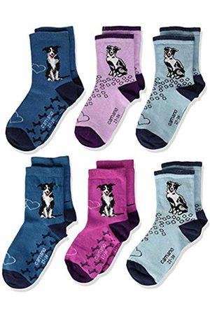 Camano Boy's 1106015000 Calf Socks, ( Coral 6700)