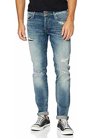 Jack & Jones NOS Men's Jjiglenn Jjicon Jos 241 50sps STS Slim Jeans, Denim
