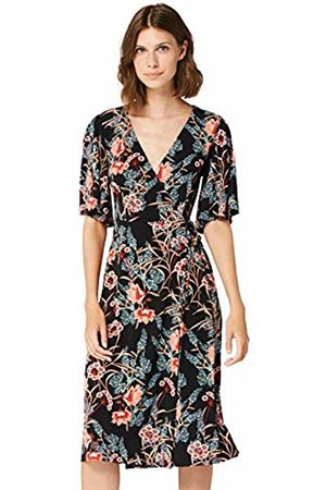 TRUTH & FABLE Damen Atf042 - 1 cocktailkleid Not Applicable, Mehrfarbig (Kimono Floral)