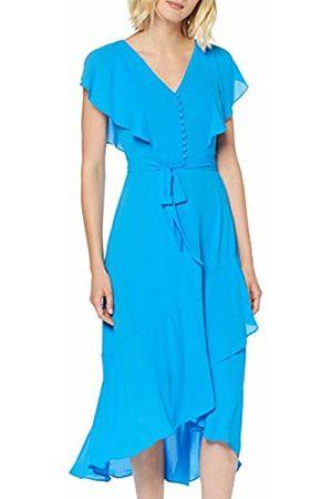 Karen Millen Women's Fluid & Draped Button Front Dress Party ( 06)