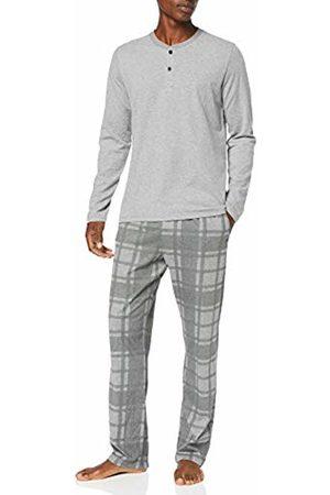 Strellson Men's 1/1 Pyjama Set, (Elite Mel. 121.0)