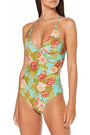 Pistol Panties Women's Elaine Swimsuit, (Vintage Floral 053)
